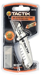 MINI RETRACTABLE UTILITY KNIFE