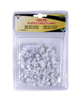 100PC CABLE CLAMPS