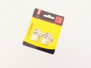 PADLOCKS FOR LUGGAGE 2PC