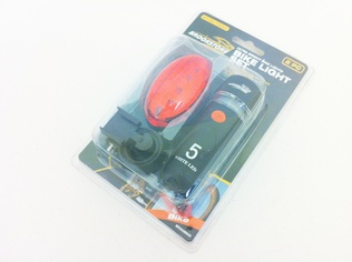 BIKE LIGHT SET 2PC