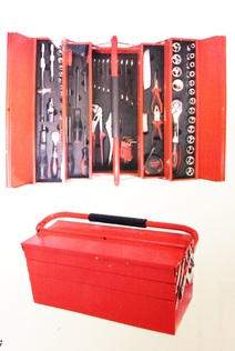 86PC TOOL SET WITH METAL CASE