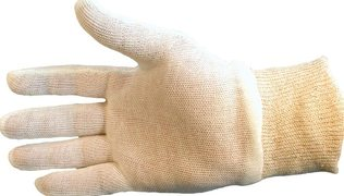COTTON GLOVES 12 PER PACK