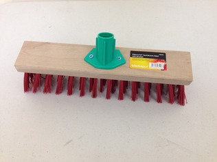 YARD BROOM HEAD PVC 13INCH