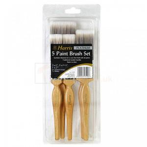 PAINT BRUSH SET 5PC PLATINUM