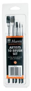 ARTIST BRUSH SET 10PC