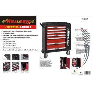 7-DRAWER ROLLER TOOL CABINET