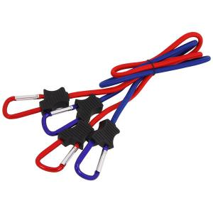 2PCS BUNGEE CORDS WITH HOOKS-36 INCH