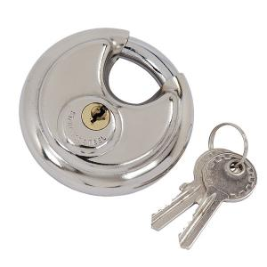 DISC PADLOCK IN DOUBLE BLISTER - 90 MM