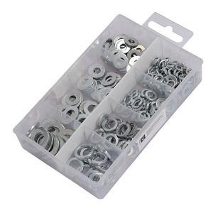 WASHER ASSORTMENT 250 PC METAL