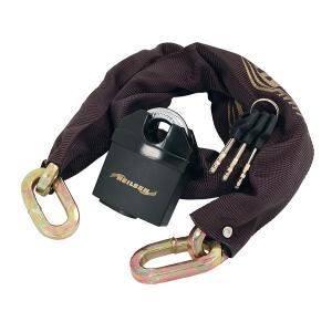CHAIN LOCK WITH 65MM PADLOCK 10MM X 1M
