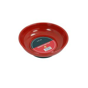MAGNETIC PARTS TRAY 4 INCH RED PAINTED