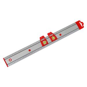 RULE WITH SPIRIT LEVEL 500MM
