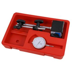 0-10MM DIAL TEST INDICATOR WITH MAGNETIC STAND HOLDER