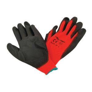 PU WORKING GLOVES 10INCH  XL SOLD IN MIN 12 PAIR