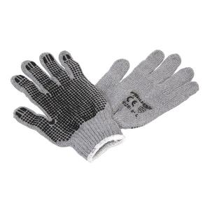 PVC DOTS COATED GLOVE  9 INCH  SIZE  L NEILSEN SOLD IN MIN 12 PAIR