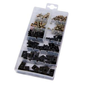 170-PIECE SCREW AND U-TYPE CUSHION ASSORTMENT