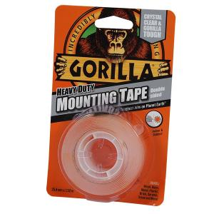MOUNTING TAPE HD DBL SIDED CLEAR