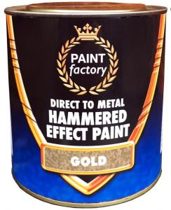 GOLD HAMMERED PAINT 750ML
