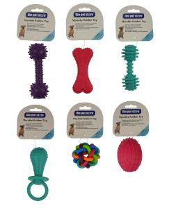 RUBBER TOY FOR DOGS