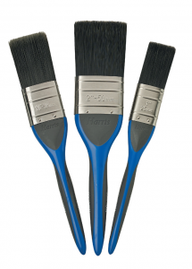 NO LOSS PAINT BRUSHES X 3