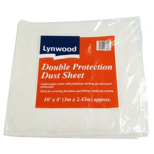 DUST SHEET 10 X 8 FT APPROX LIGHTWT COTTON