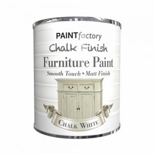 CHALK FINISH MATT PAINT CHALK WHT 650ML