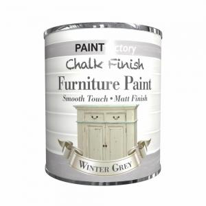 CHALK FINISH MATT PAINT WINTER GREY 650ML