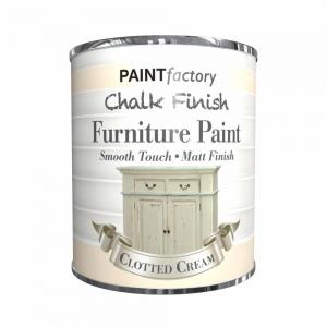 CHALK FINISH PAINT CLOTTED CREAM 650ML