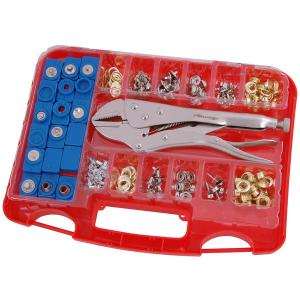 275-PIECE EYELETS AND SNAP FASTENER ASSORTMENT