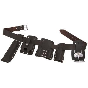 SCAFFOLDING OIL TANNED LEATHER TOOL BELT