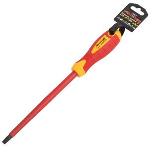 VDE INSULATED SLOTTED SCREWDRIVER 8.0X1.6X175MM