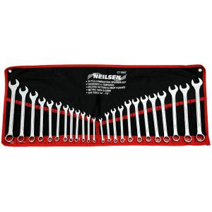 SPANNER SET 25 PCS 6-22MM  1/4-7/8