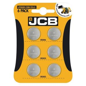 COIN CELL BATTERIES 6 PACK
