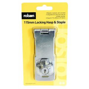 115 X 40MM SELF LOCKING HASP LOCK