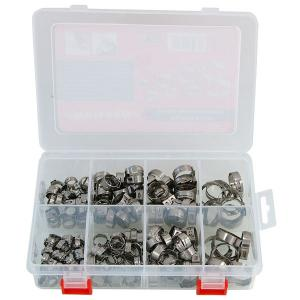 O-CLIP SINGLE EAR ASSORTMENT 160PCS STAINLESS STEEL