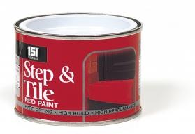 STEP & TILE RED PAINT