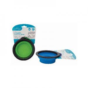 SMALL COLLAPSIBLE TRAVEL PET BOWL