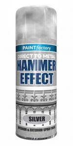 HAMMERED SILVER PAINT 400ML