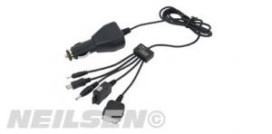 MOBILE PHONE CHARGER 5 IN 1 12V