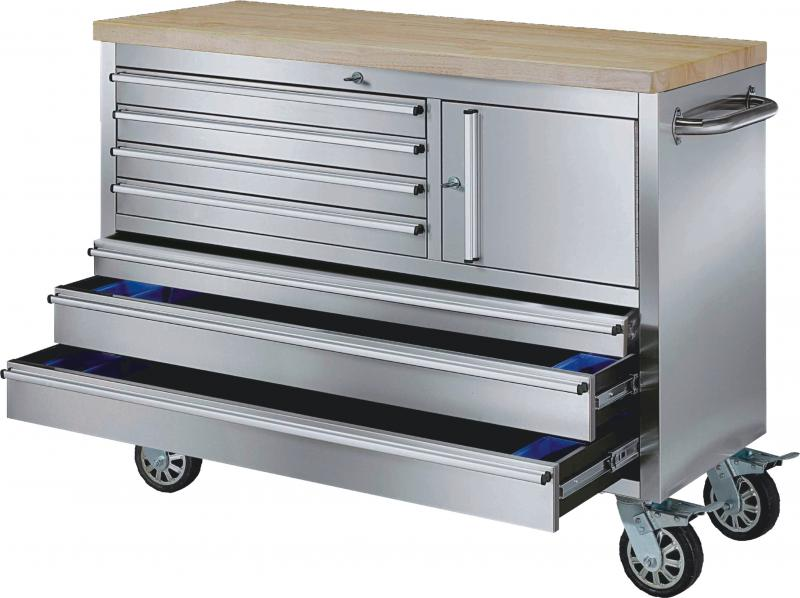 48 inch stainless steel rolling workbench - Rolling Workbench