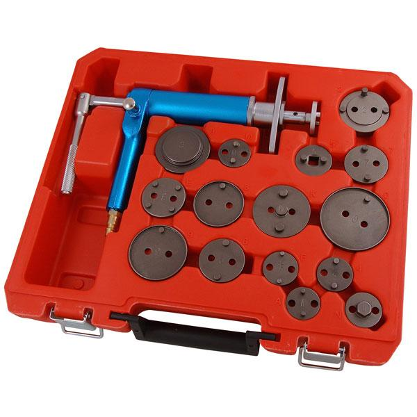 16PCS AIR POWERED BRAKE PISTON WIND BACK KIT Automotive tools