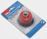 2.5INS KNOTTED WIRE CUP BRUSH 65MM