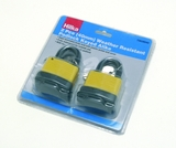 PADLOCK 50MM WEATHER RESIST KEYED ALIKE