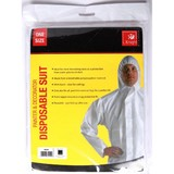 DISPOSABLE OVERALL WITH HOOD