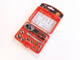 11PC MINI STUBBY RATCHET SOCKET SET