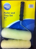 ROLLER AND TRAY X 2 9INS
