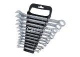 SPANNER SET DROP FORGED (NICKEL PLATED) - 11 PIECE SET ON PLASTIC TRAY