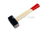 STONNING HAMMER - 1.0KGS WITH  WOODEN HANDLE