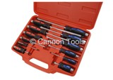 SCREWDRIVER SET - 12 PIECE (FLAT & PHILLIPS)