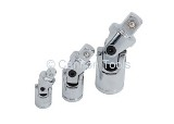 UNIVERSAL JOINT SET - 3 PIECE - 1/4 3/8 1/2 DRIVE